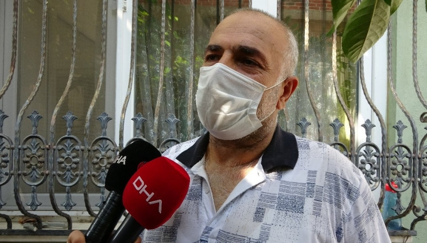 Bursa'da ev sahibi ile göz göze gelen hırsız...