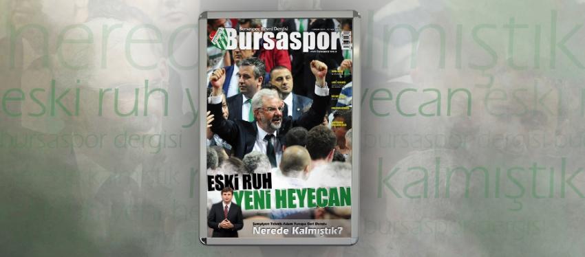 Bursaspor Dergisi 87. sayısı çıktı