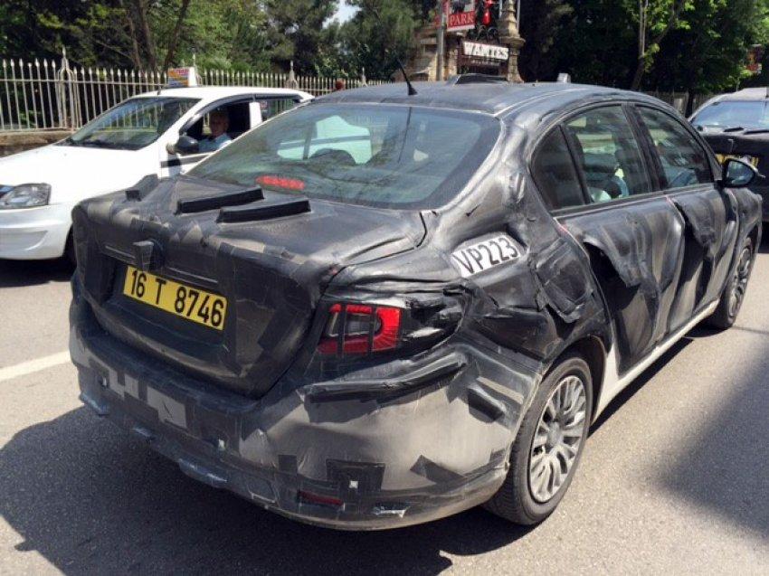 Fiat'ın yeni sedanı Bursa yollarında!