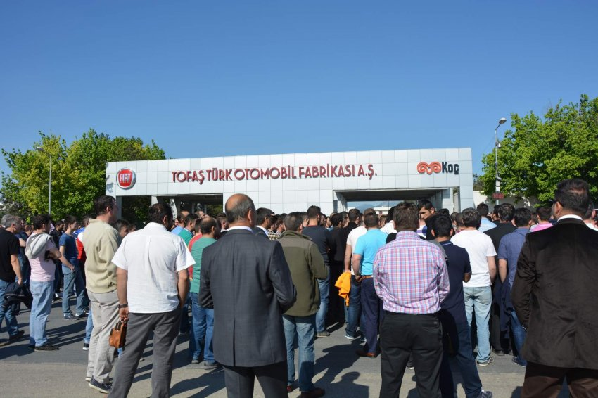 TOFAŞ'ta işçiler sendikadan istifa etti