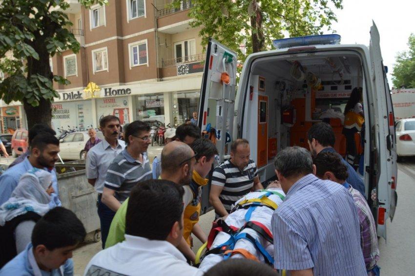 Bursa'da faciaya kıl payı