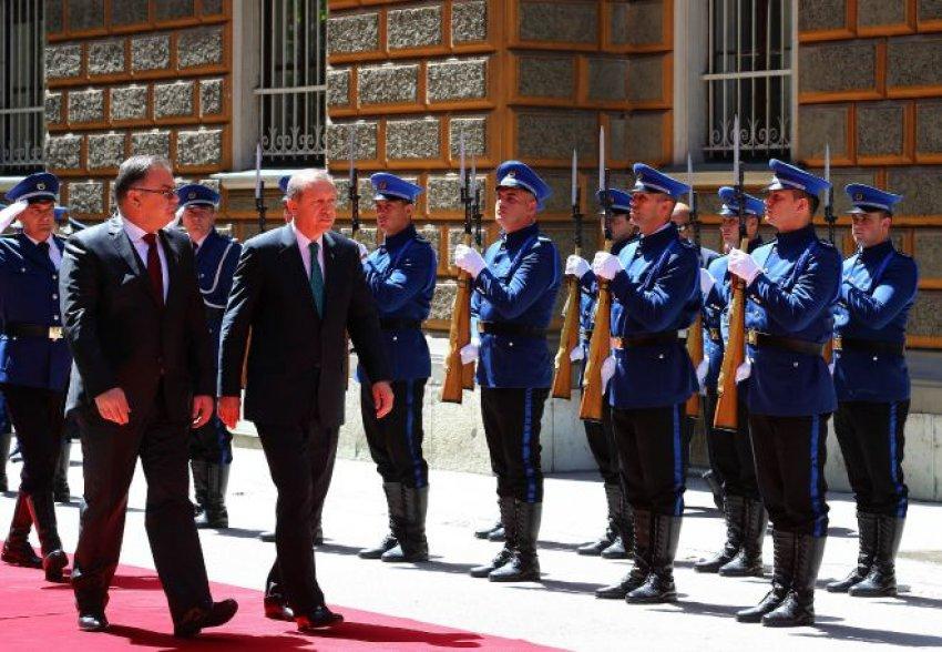 Erdoğan'a Bosna-Hersek'te coşkulu karşılama
