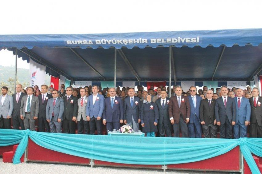 Bursa'da 150 yataklı hastanenin temeli atıldı