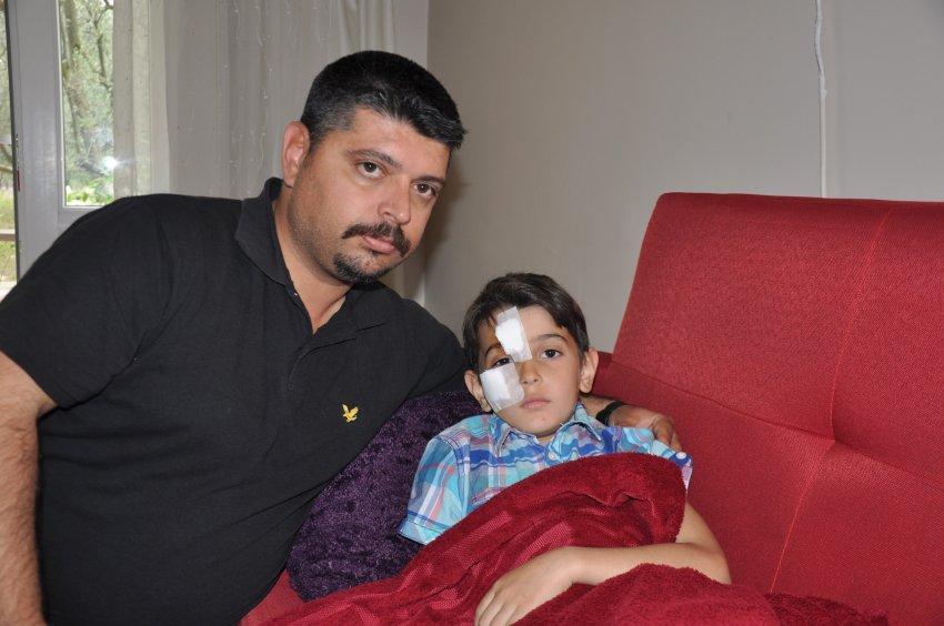 Bursa'da küçük çocuğa köpek saldırısı dehşeti!