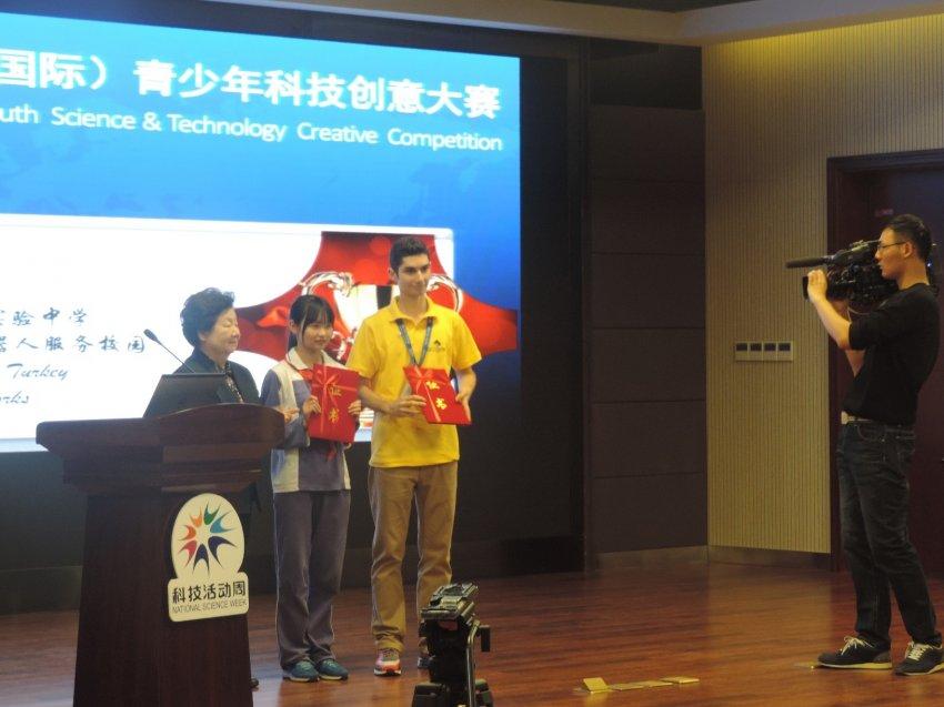 Çin'den Bursa'ya 'Süper Ödül'