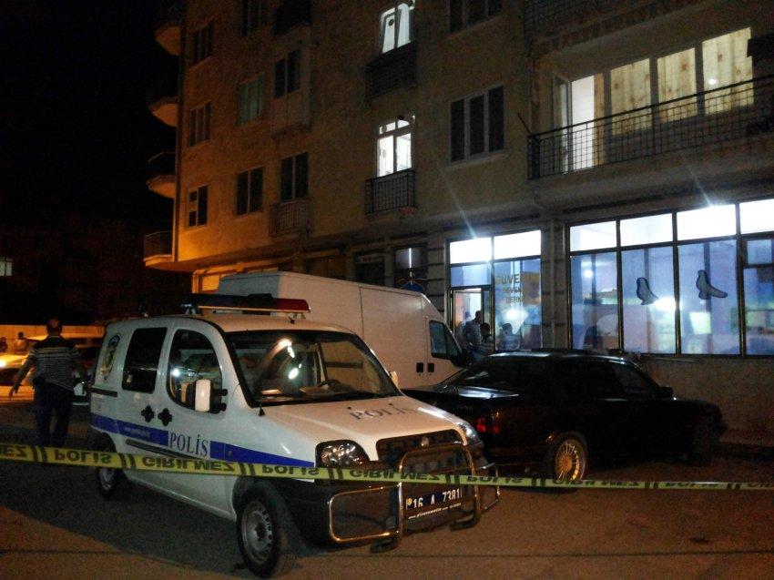 Bursa'da silahlı yaralama