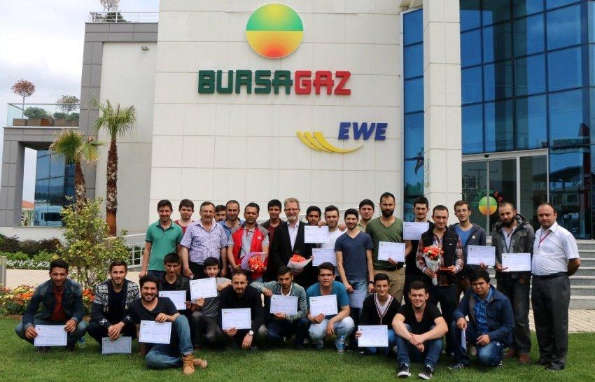 Bursagaz, üniversite öğrencilerini sektöre hazırlıyor