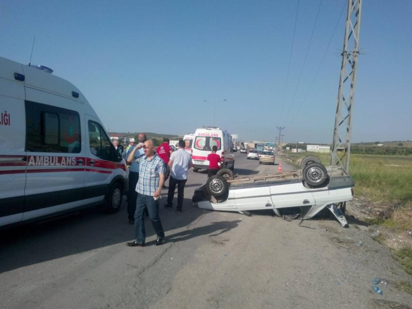 Bursa-İzmir yolunda kaza! 7 yaralı