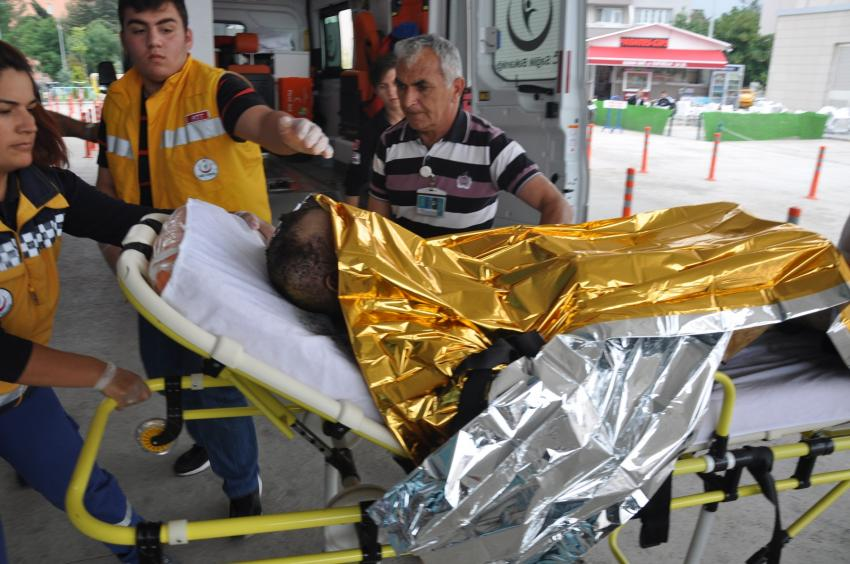 Bursa'da benzin döküp kendini yaktı! Bakın neden?