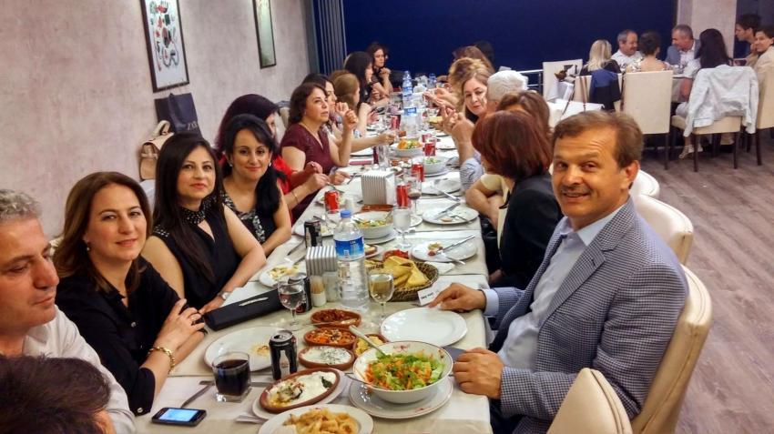 Bursa'da hemşireler gönüllerince eğlendi