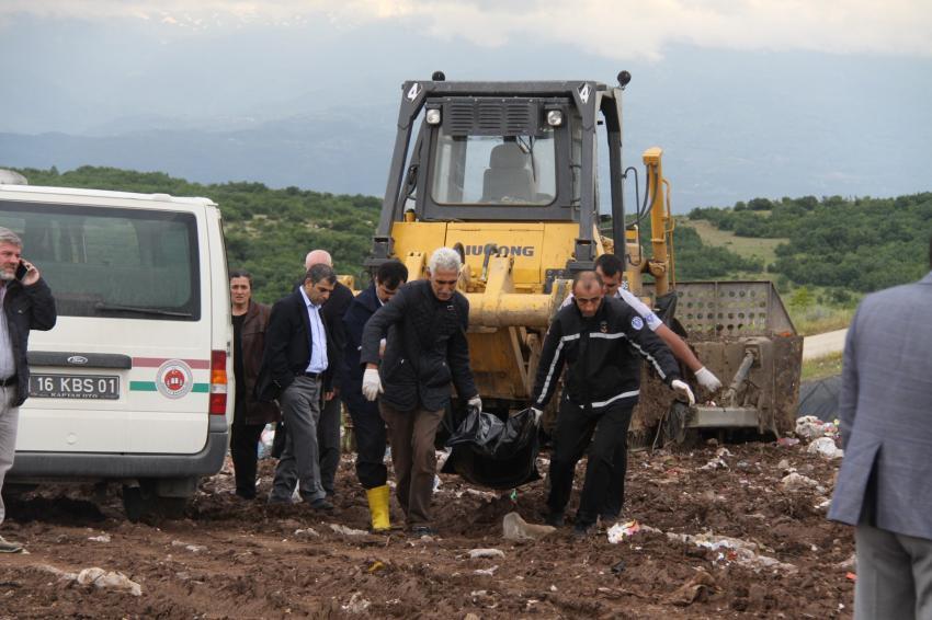 Bursa'da korkunç ölüm! Dozerin altında kaldı