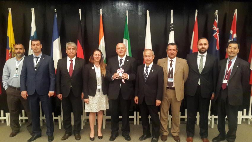 Türk bilim adamına Japonya'dan madalya
