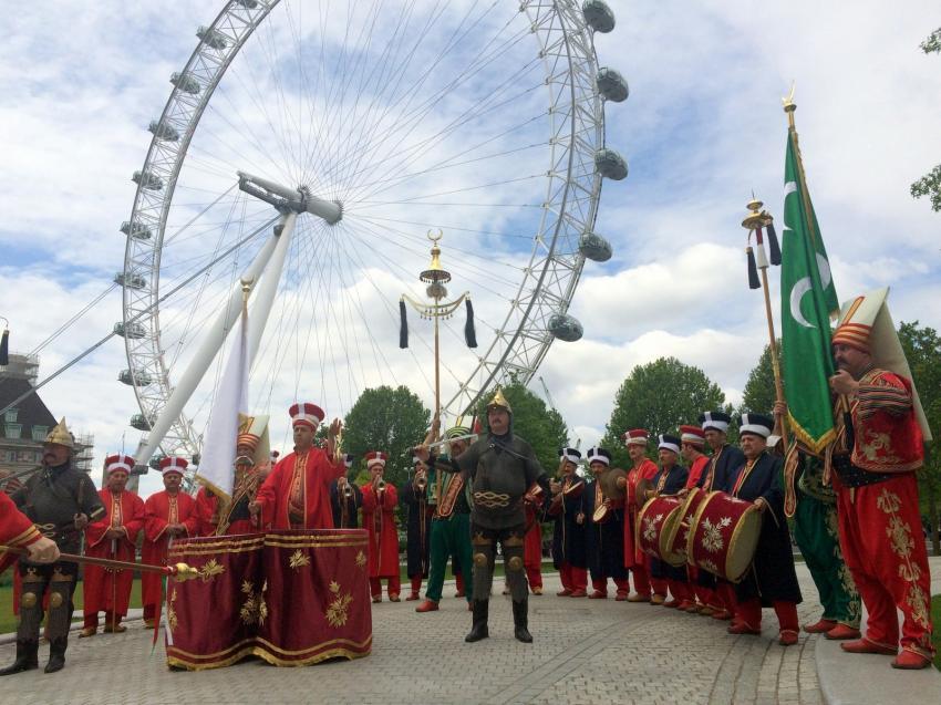 Bursa Mehter Takımı'ndan Londra fethi