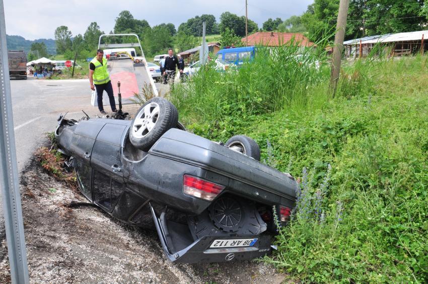 Bursa'da iki ayrı kaza! 6 yaralı