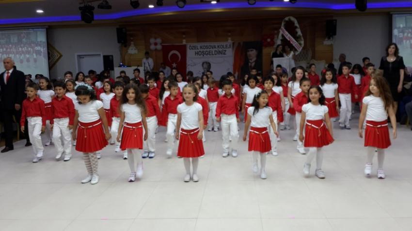 Kosova Koleji'nden yıl sonu finali