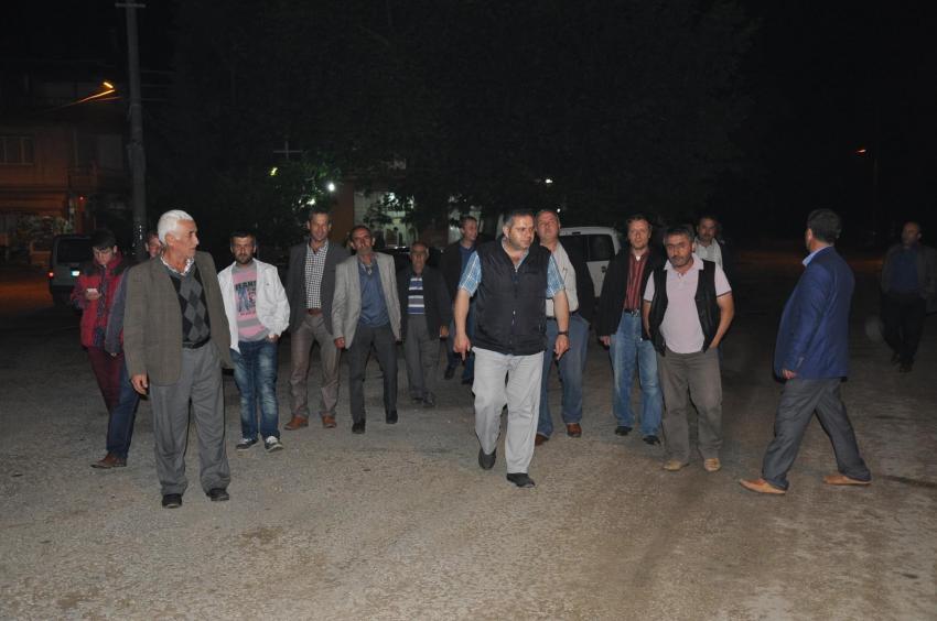 Bursa'nın bu ilçesinde mahalle sakinleri devriye görevinde!