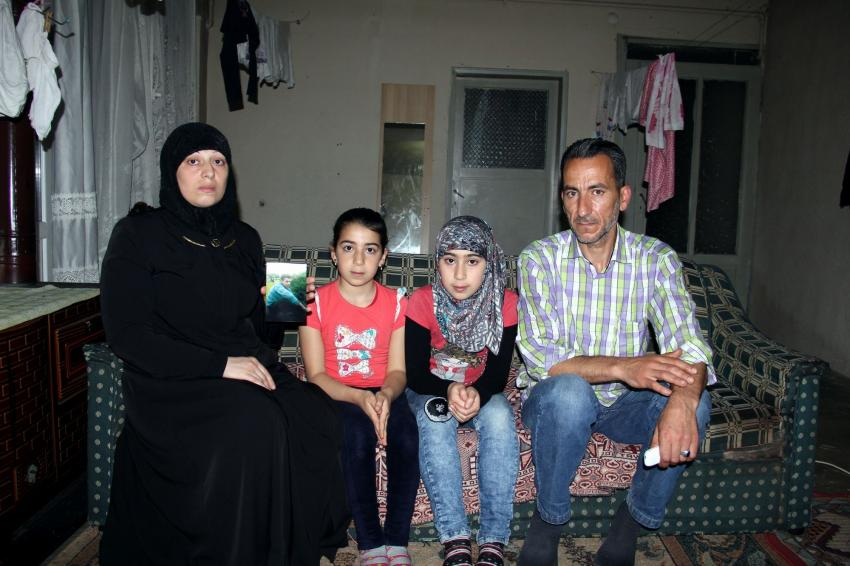 Suriyeli baba zihinsel engelli oğlunu arıyor