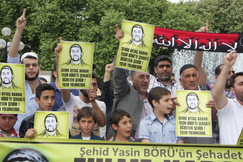Aytaç Baran'ın öldürülmesi Bursa'da protesto edildi