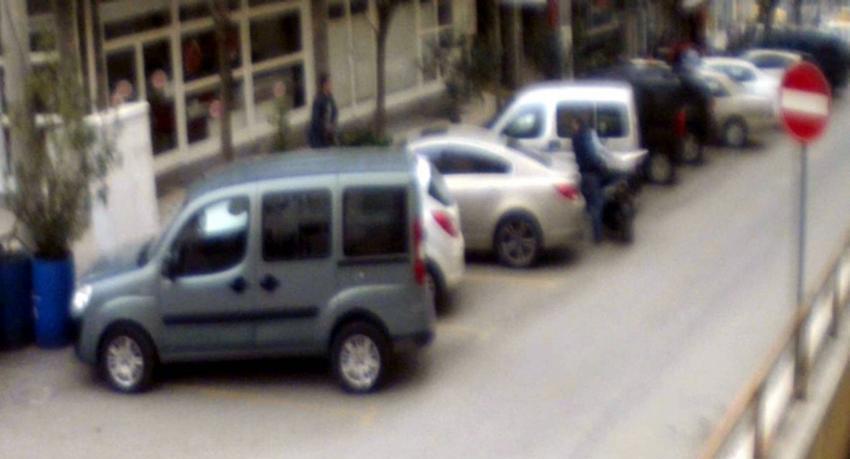 Bursa'da cinayet anı böyle görüntülendi!