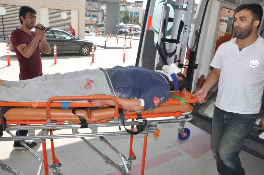 Bursa'da 2 ayrı kaza!