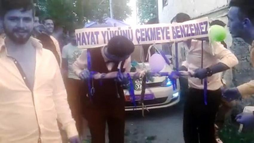 Bursa'da damat ve sağdıcın zor anları