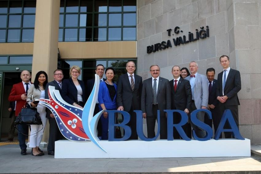 Bursa'da yatırımlarını arttırmaya devam edecek
