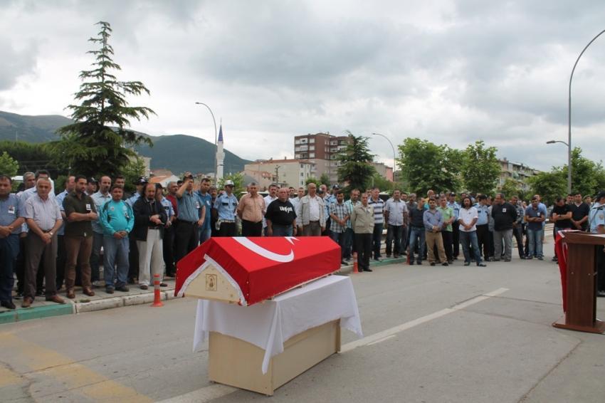 Ahmet Çamlıbel'e son görev