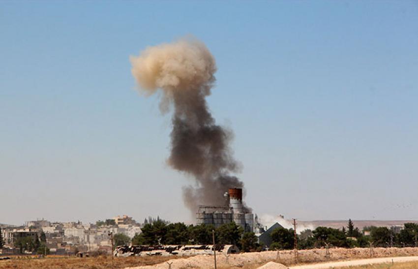 Kobani'de ikinci bombalı saldırı