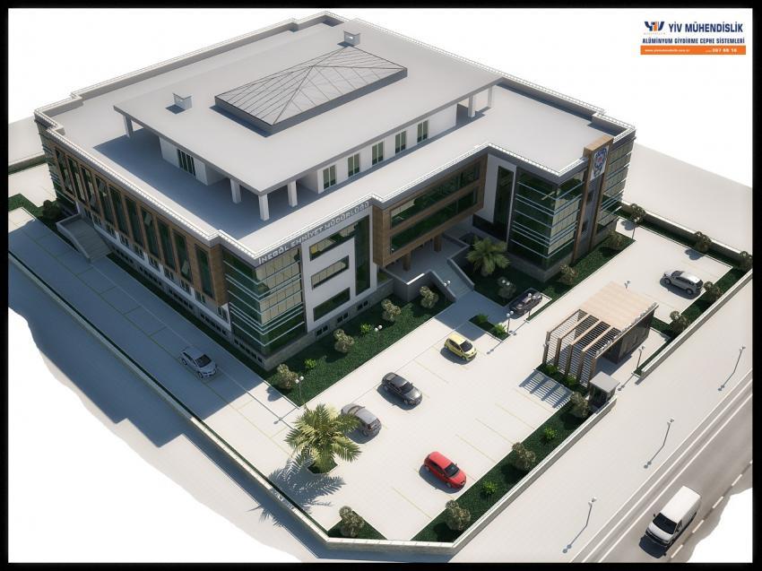 Emniyet binası projesi TOKİ'ye teslim edildi