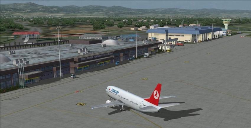 Bursalılar uçmayı sevdi!