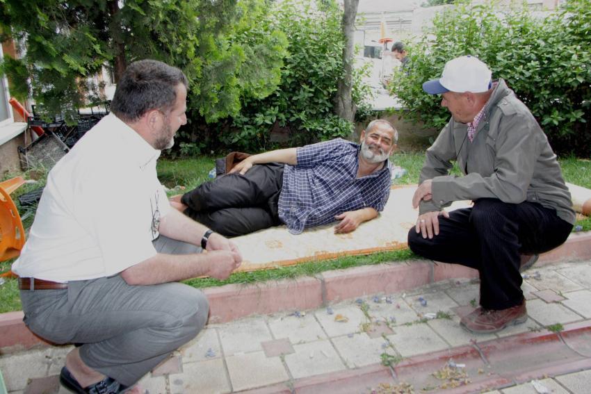 Bursa'da yürek burkan haber! Parkta ölümü bekliyor