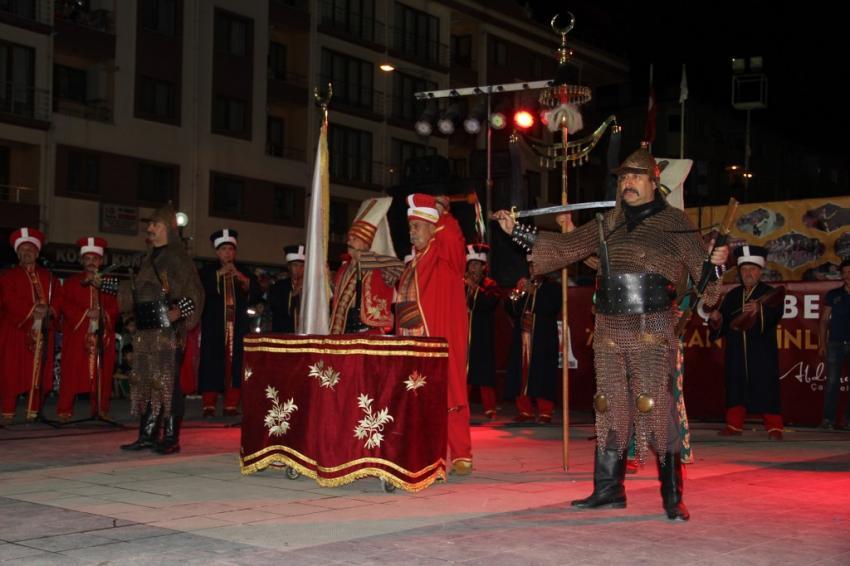 Bursa Tarihi Mehteran ekibi Çan'da