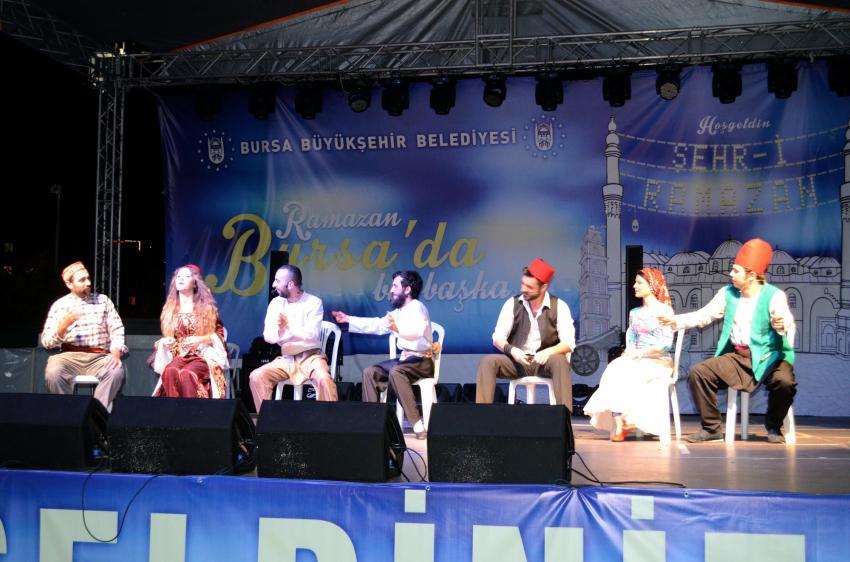 'Envar-ı Bursa' sahneye çıktı
