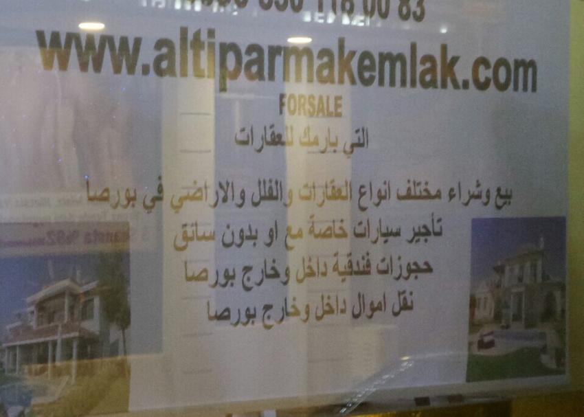 Müşteri Araplar olunca Arapça farz oldu! (ÖZEL HABER)