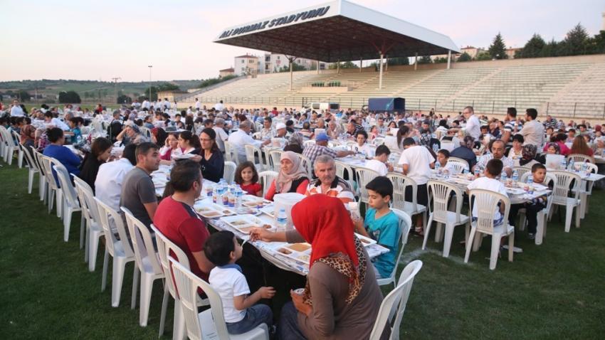 Büyük iftar buluşması