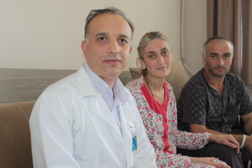 Bursa'da sağlığına kavuştu