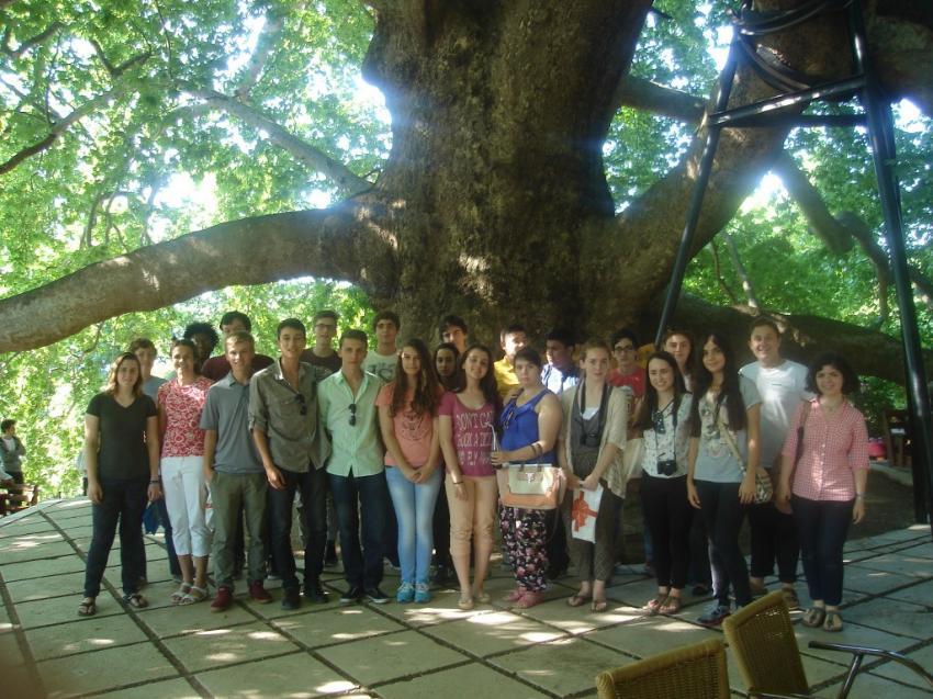 Bursa'yı keşfederek Türkçe öğreniyorlar