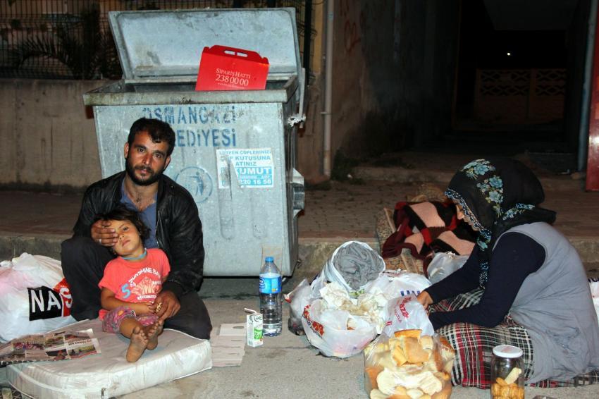 Bursa'da yaşam mücadelesi