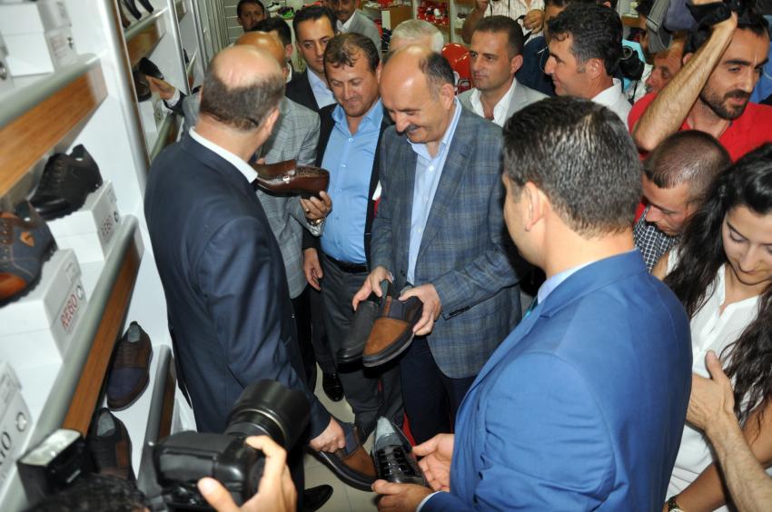 Müezzinoğlu'dan Bursa'da esnaf ziyareti