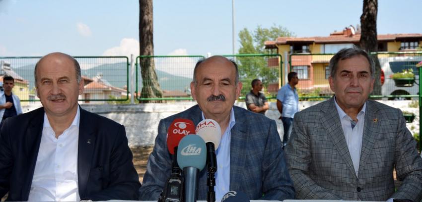 Müezzinoğlu Bursa'da konuştu!