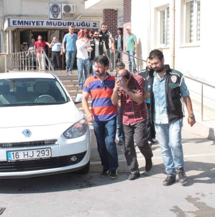 Bursa'da sahurda operasyon!
