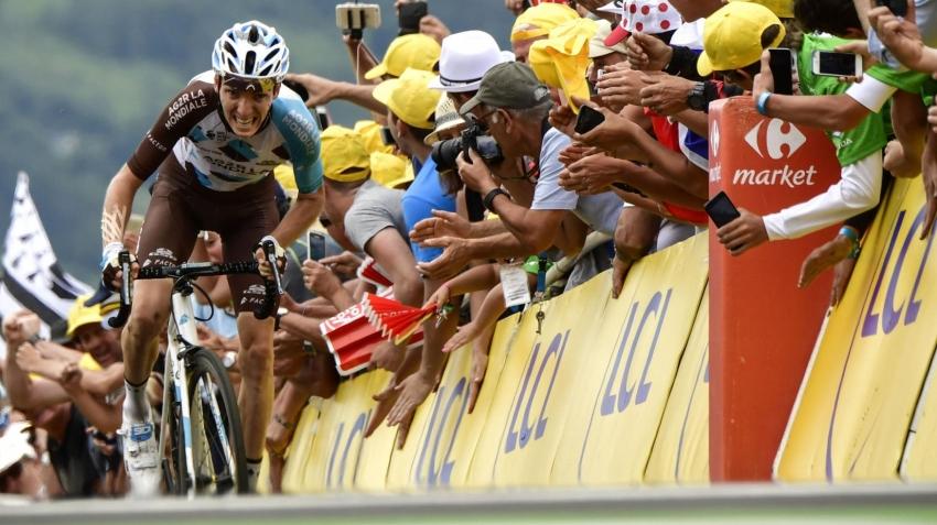 Sarı mayo Aru'nun, 12. etap Bardet'nin