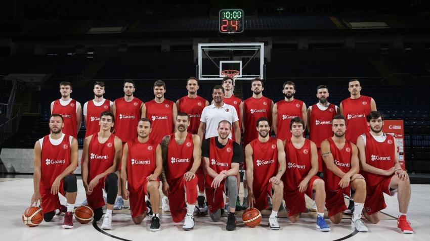 Basketbol Milli Takımı'nın EuroBasket mesaisi başlıyor