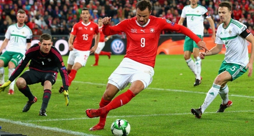 İsviçre, Rusya biletini kaptı