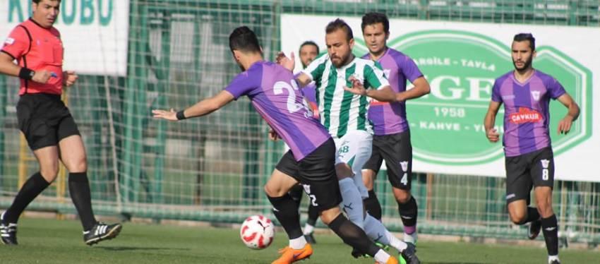 Yeşil Bursa A.Ş.3 -0 Yomraspor