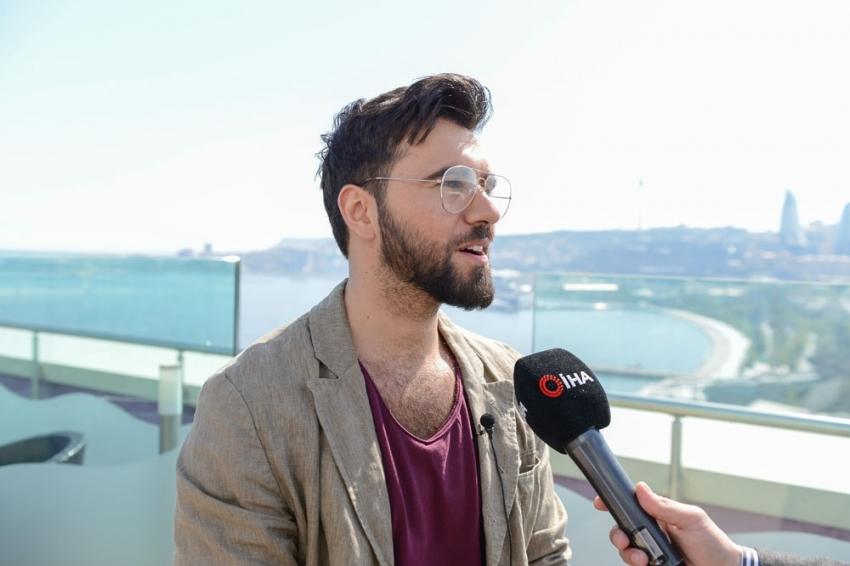 Azerbaycan Eurovision 2019 temsilcisi Mustafayev: ''Bayrakları dalgalandıracagım''