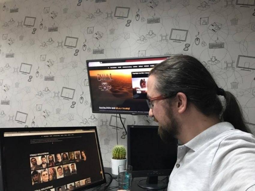 30 milyon dolarlık filmin wep sitesi Balıkesir'den