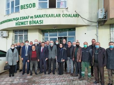 İYİ Parti'den Mustafakemalpaşa'da incelemeler