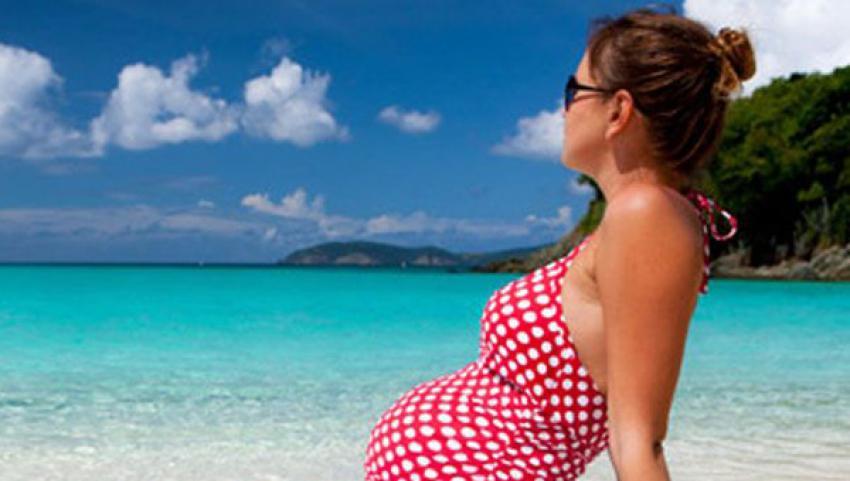Hamileler havuz yerine denizi tercih etmeli
