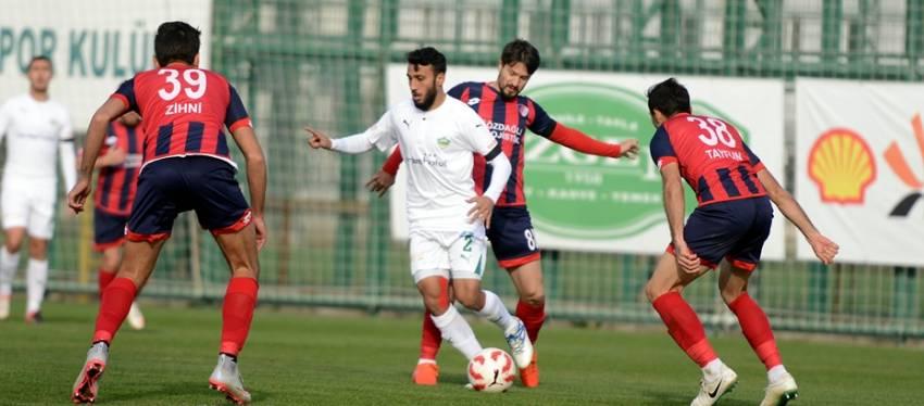 Yeşil Bursa 1-2 Düzcespor